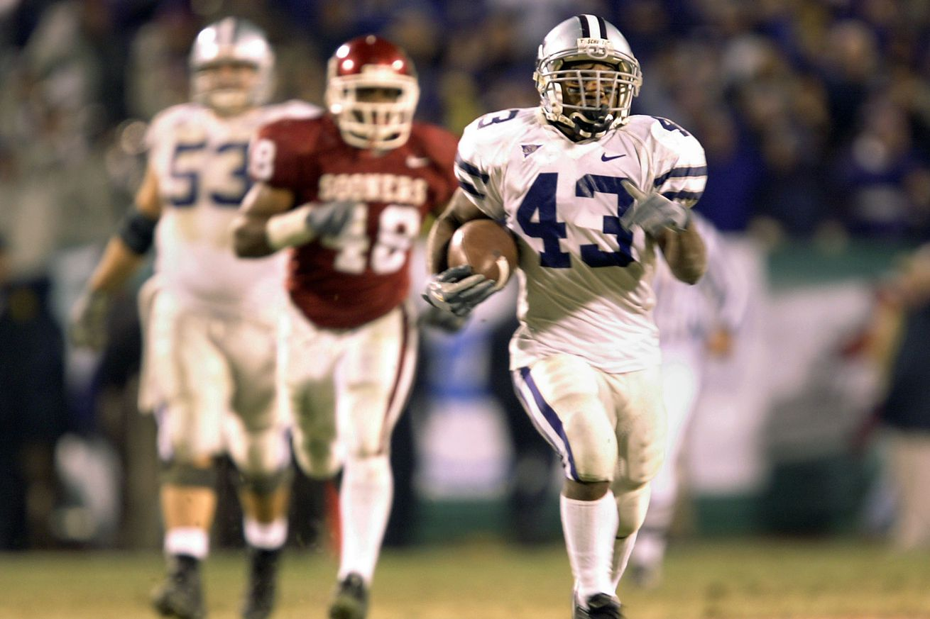 Whether it's worn by a graduating long snapper such as Drew Scott or an incoming defensive tackle such as Derick Newton, No. 43 always will be, for me, the eternal number of the greatest little running back in Kansas State football history, Darren Sproles.