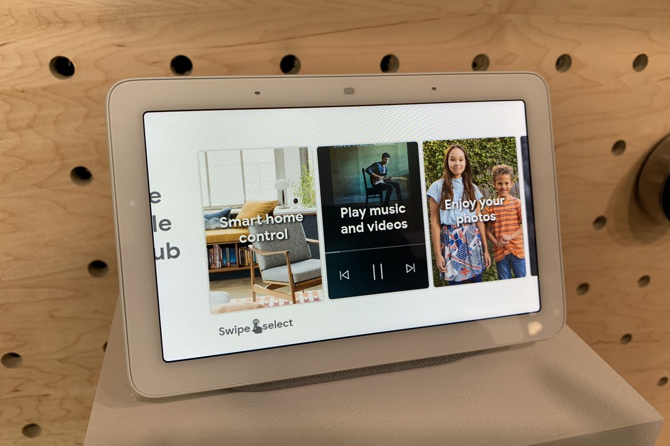 google home hub hands on assistant gets a screen