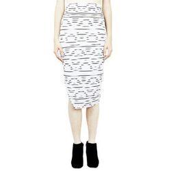 "<b>Krystalrae</b> BK High Waisted Skirt, <a href=""http://www.dalaganyc.com/collections/bottoms/products/bk-high-waisted-skirt"">$82</a> at Dalaga (Made in NY!)"
