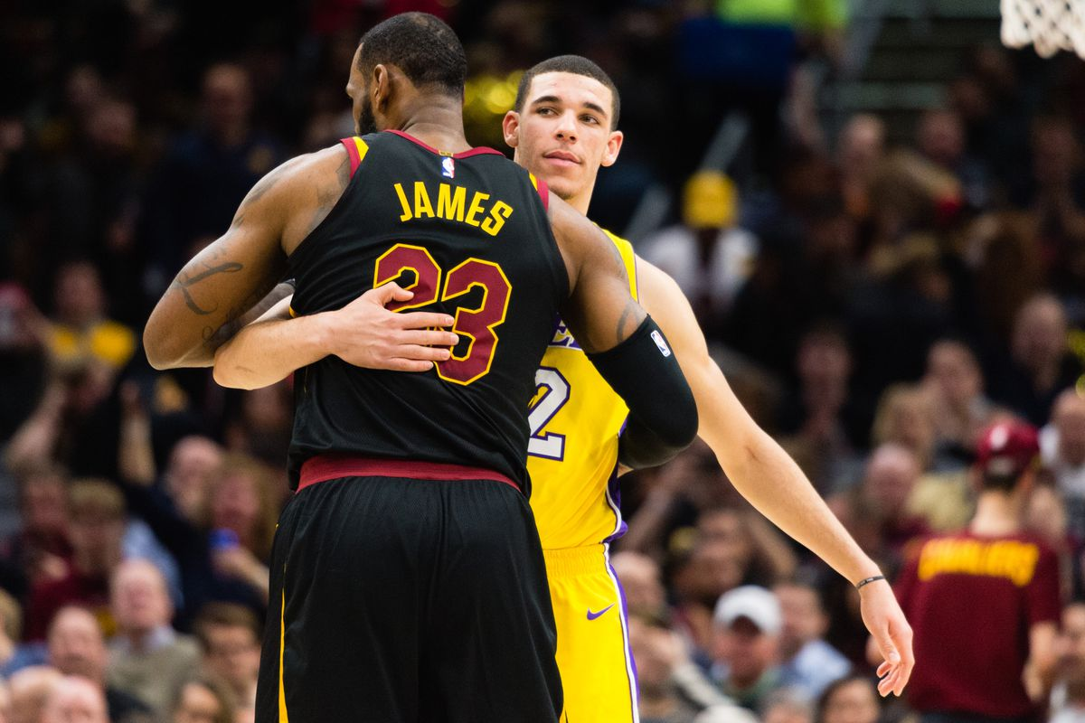 new style 6d44e a774c Lonzo Ball passed LeBron James  first test for him months ago