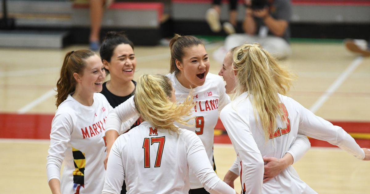 Maryland volleyball upsets No. 15 Michigan in straight sets in Ann Arbor - Testudo Times