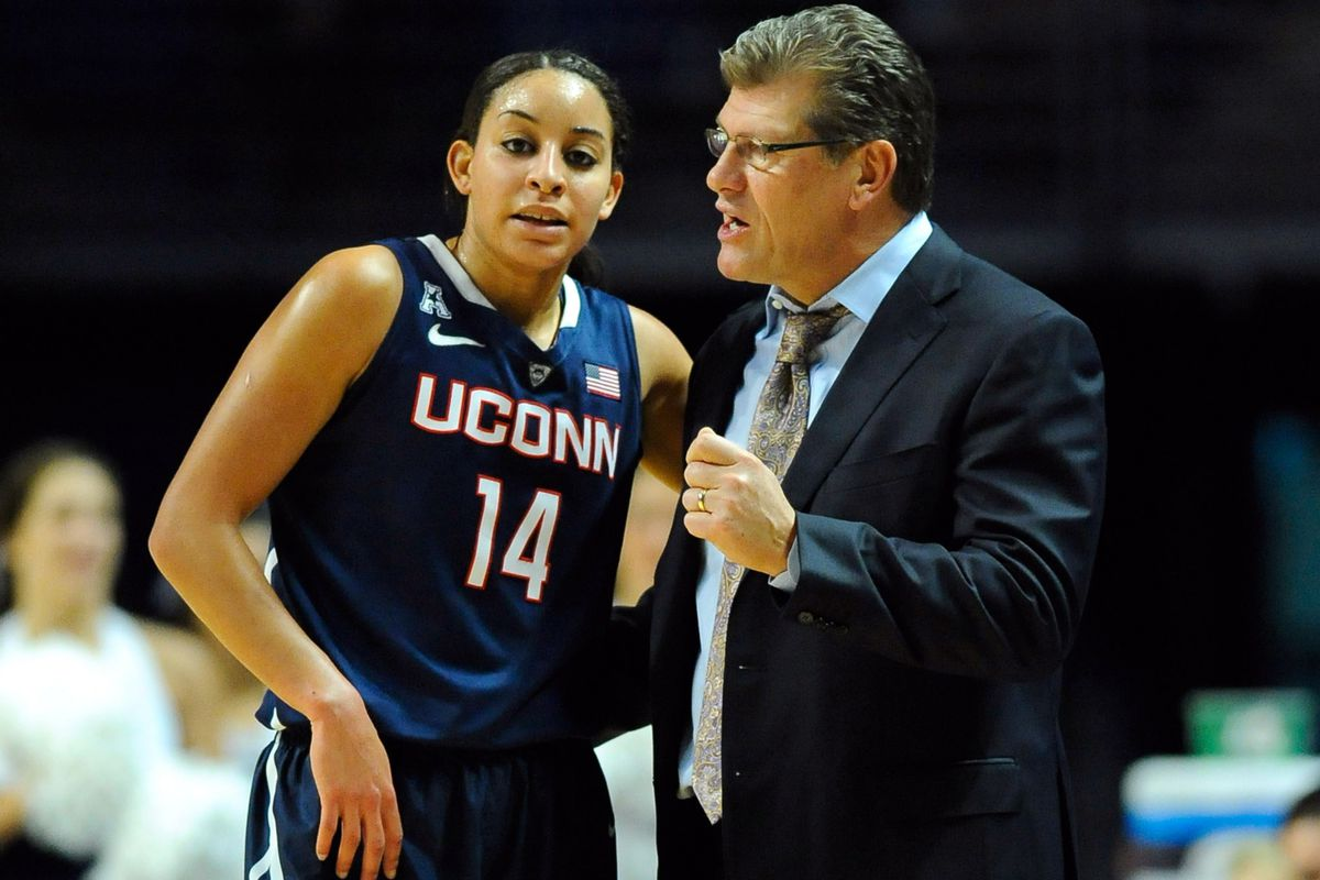 UConn's Bria Hartley was named AAC Player of the Week after a career-high against Penn State on Sunday.