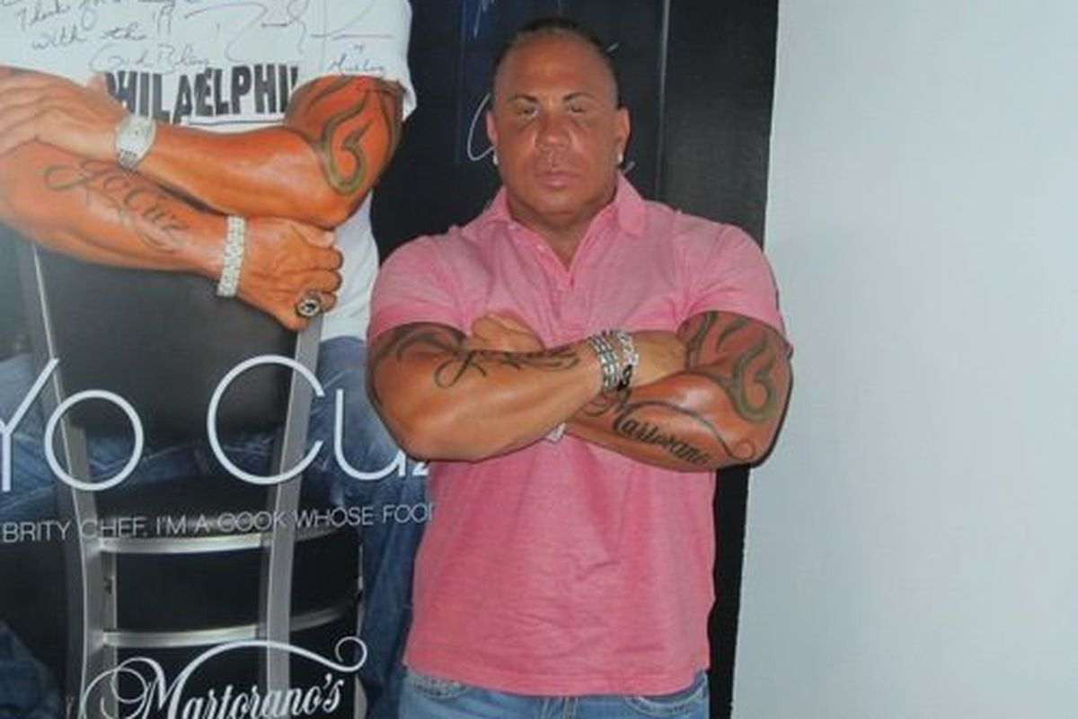 Steve Martorano tattoos.