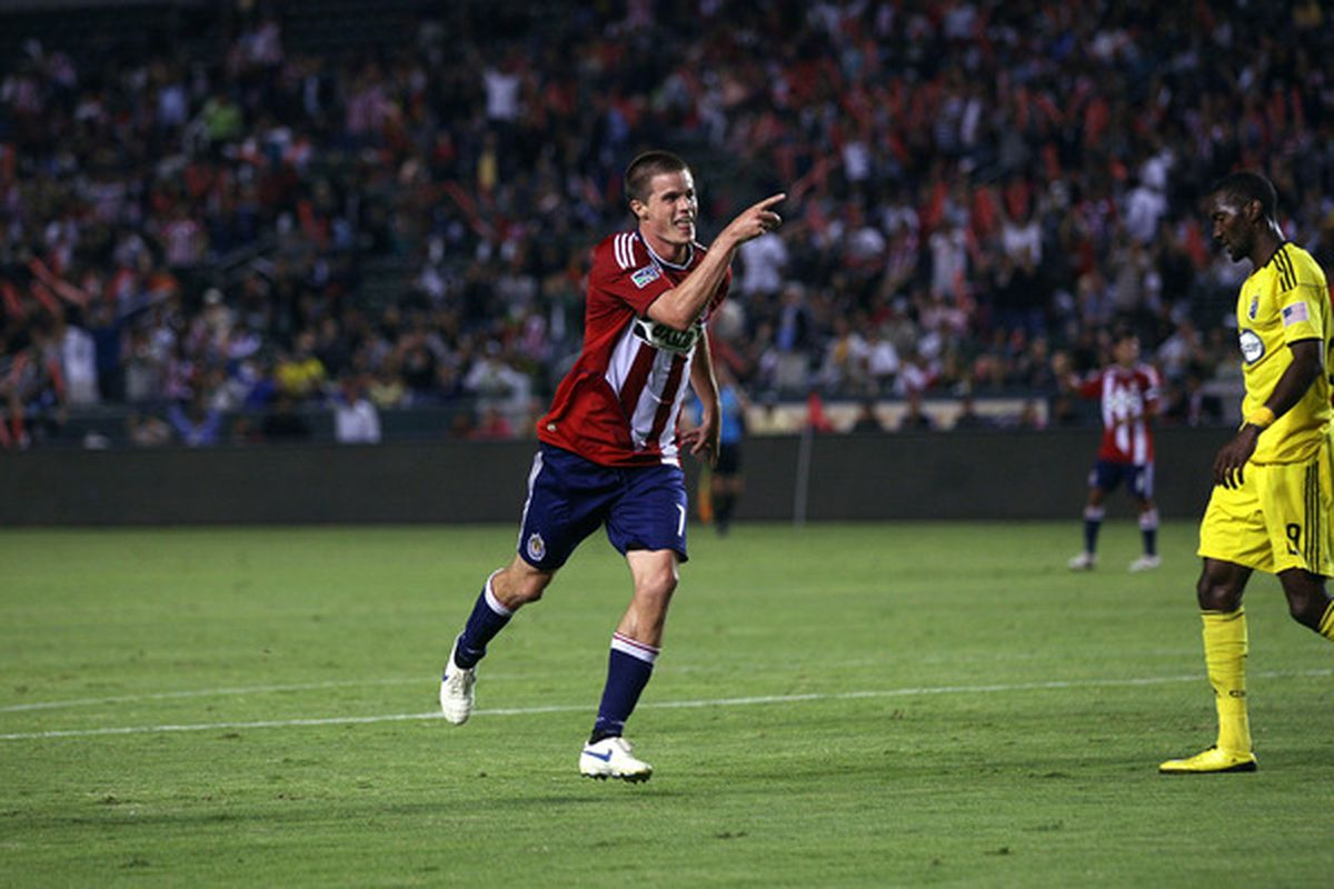 That's the guy to keep an eye on Saturday night. <strong>Chivas USA</strong> forward <strong>Justin Braun</strong> burned Kansas City for both goals in a 2-0 shutout of the then-Wizards last July in KC.
