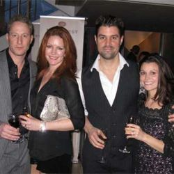 Rob and Kathleen Katz; Kevin Boehm and Courtney Moon