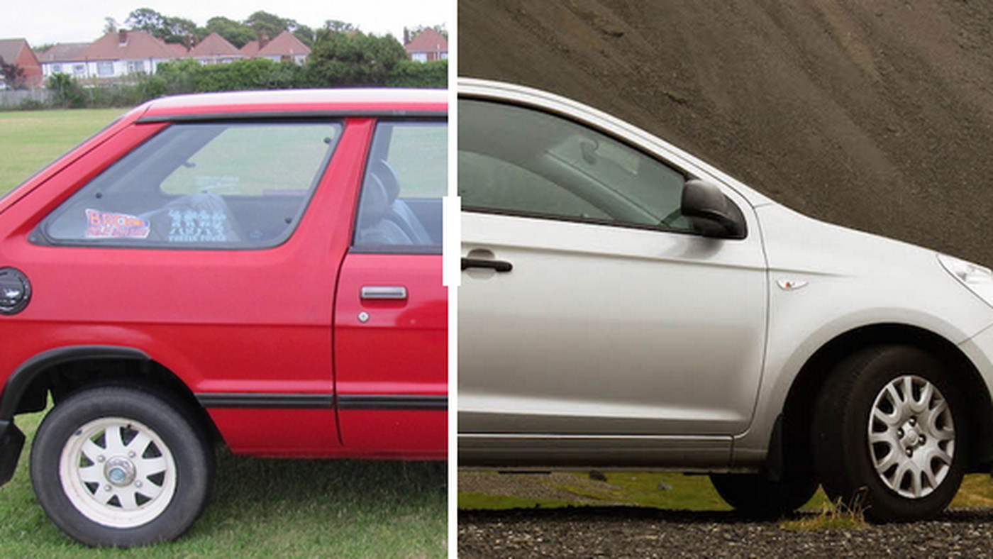 Why Cars Went From Boxy In The 80s To Curvy In The 90s Vox