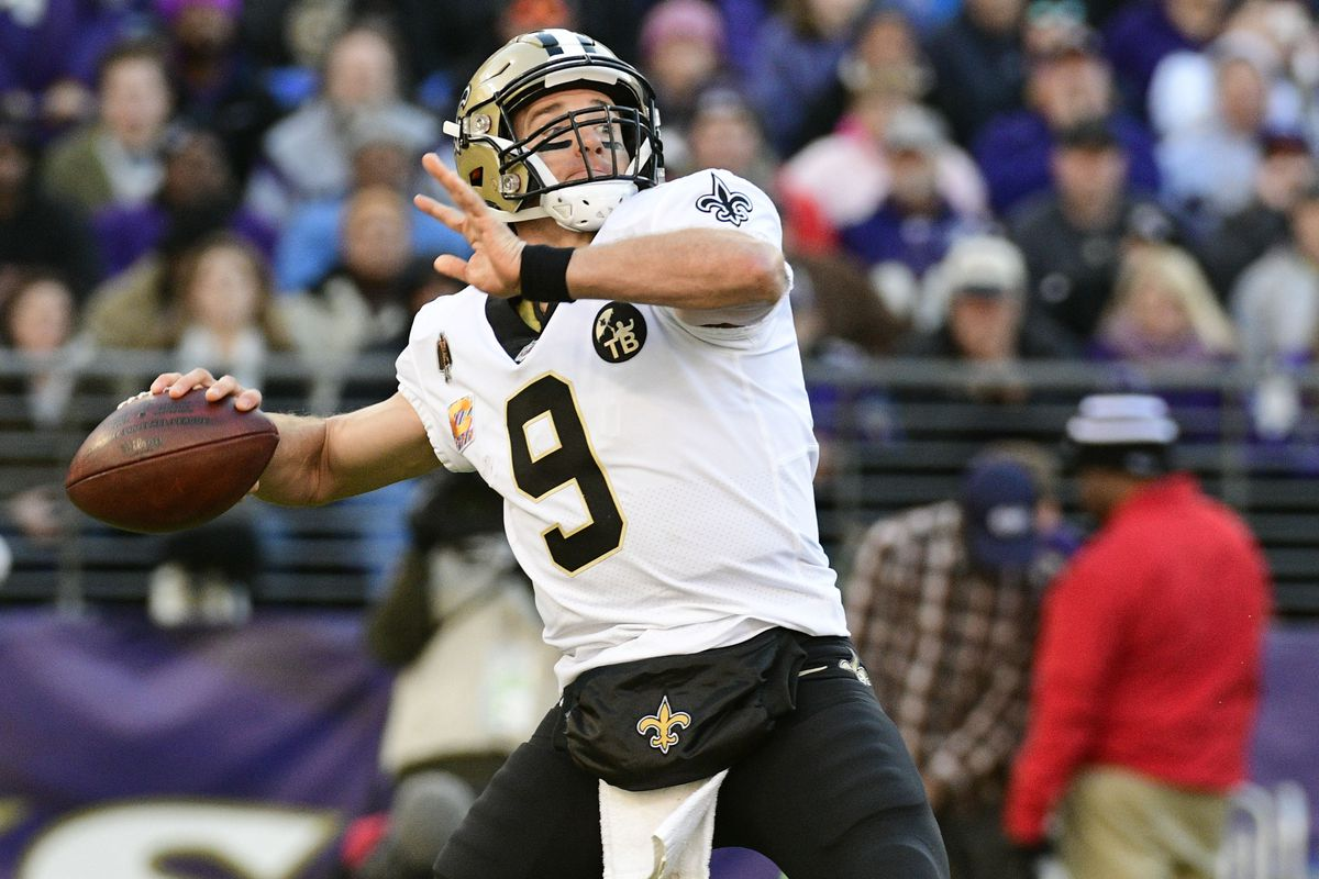 Drew Brees is just a slight uptick compared to the rookie quarterbacks the  Vikings have faced the past two weeks. Tommy Gilligan-USA TODAY Sports 0e28b55c04c2