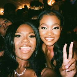 """""""I made this selfie of my friend and me on my point-and-shoot, just hoping that the moment would come out like this. Our friend photo-bombed us, which shows how much fun we had that night."""""""