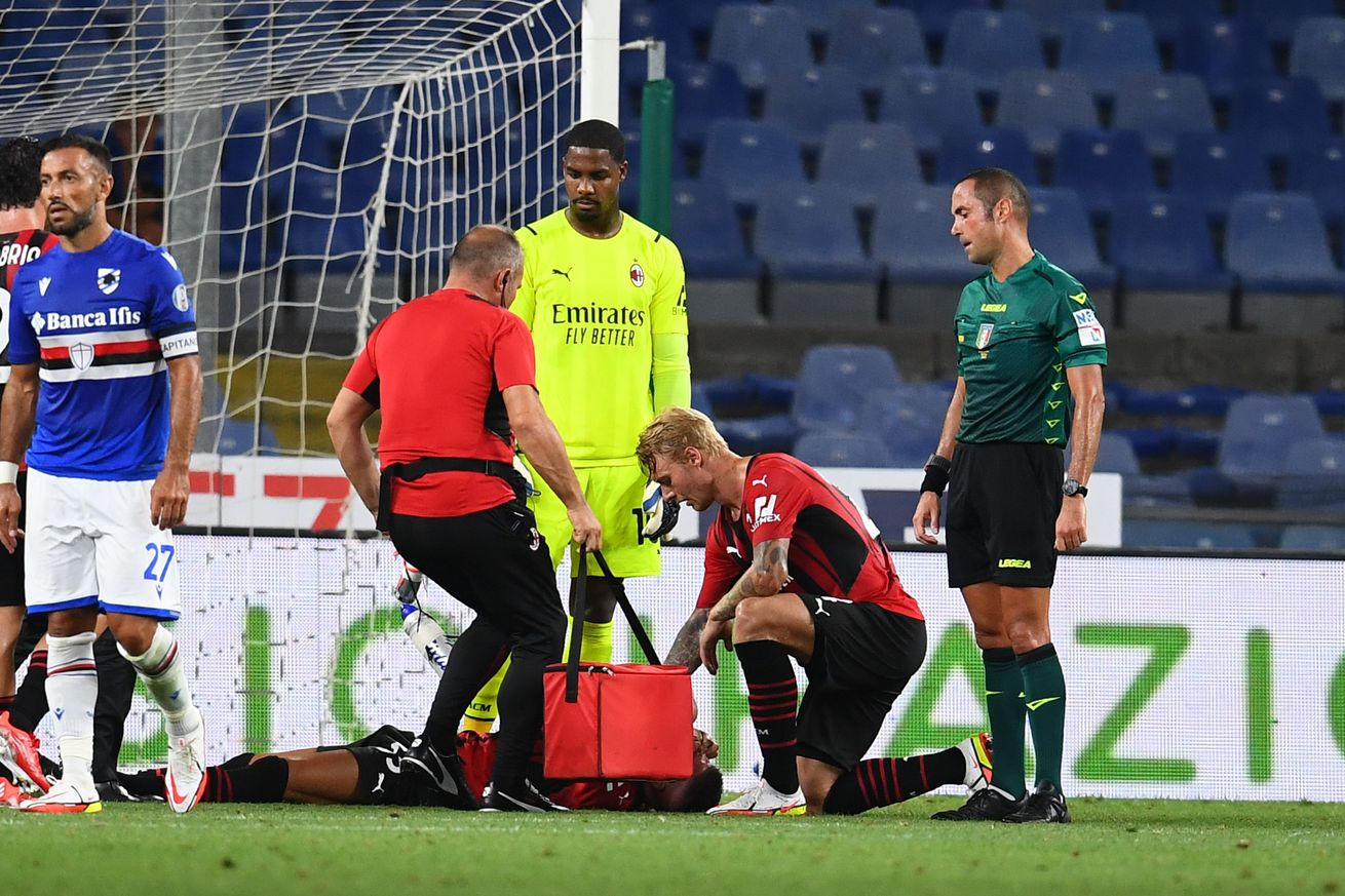 AC Milan Have An Injury Crisis Again As Six Players Ruled Out Of Juventus Trip