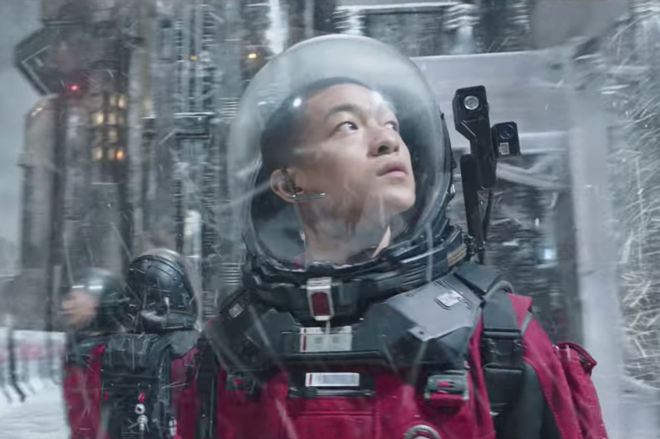 the wandering earth could be china s breakout sci fi blockbuster film