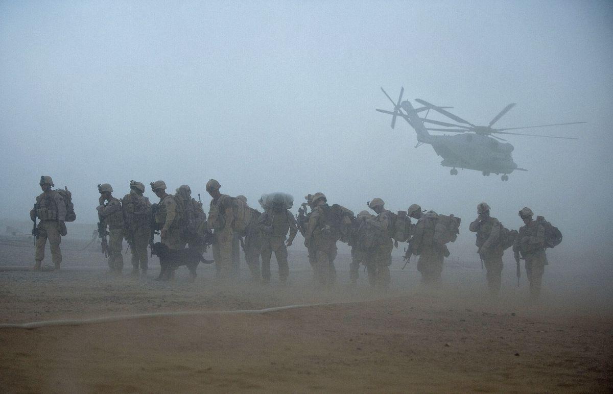 Afghanistan troops MANPREET ROMANA/AFP/Getty Images