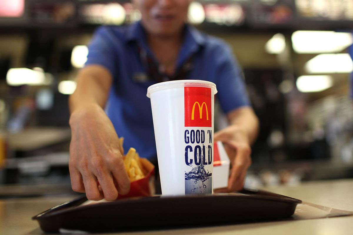 Does McDonald's employ this woman? The answer matters more than you may think.