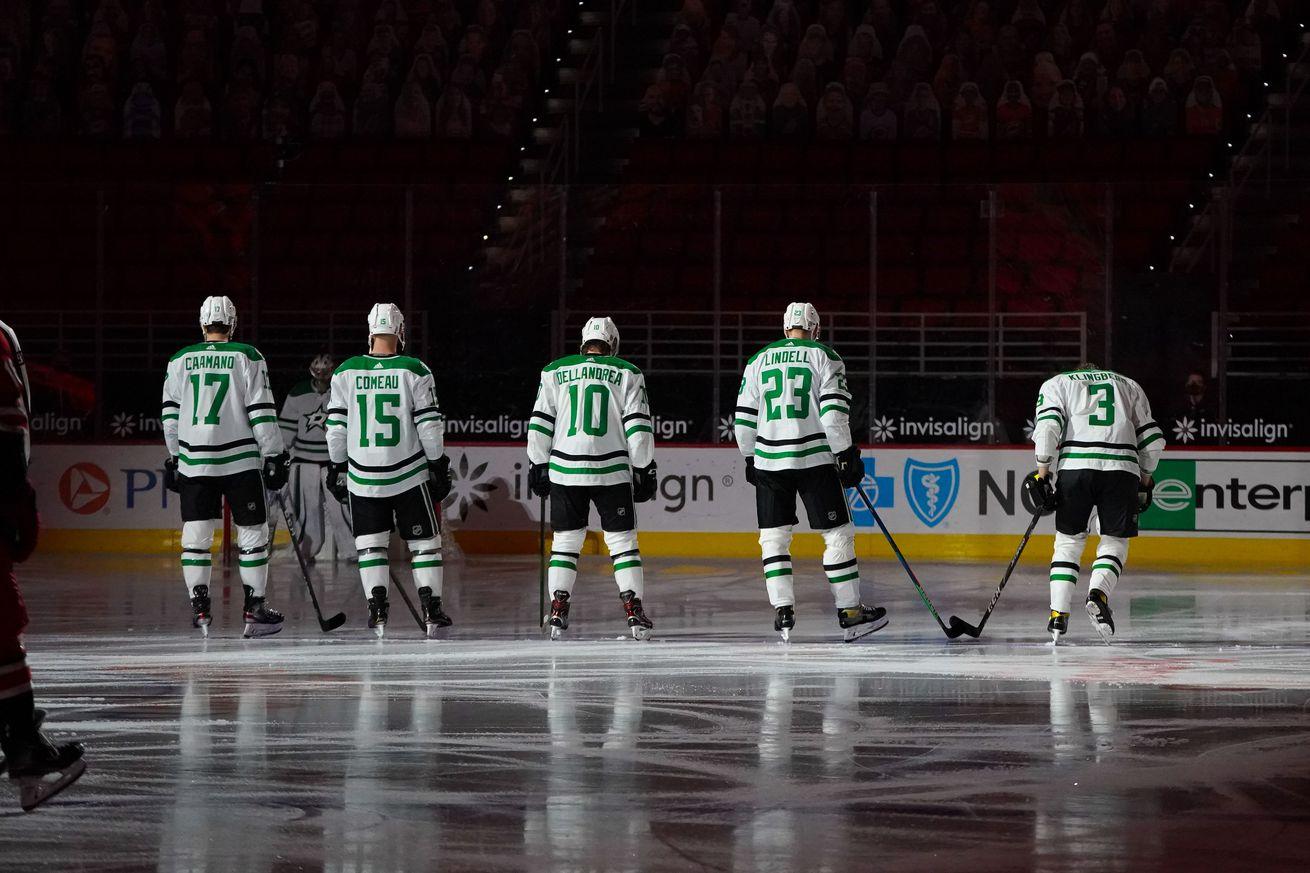 NHL: Dallas Stars at Carolina Hurricanes