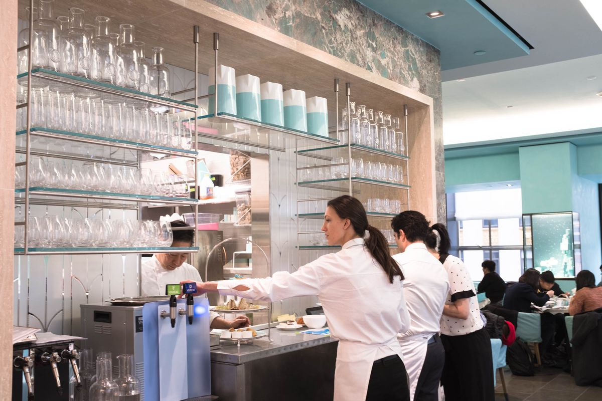 f37e5603a02 Blue Box Cafe is the culmination of Tiffany's attempt to connect with  millennials and modernize the struggling brand. Back in January, the  180-year-old ...