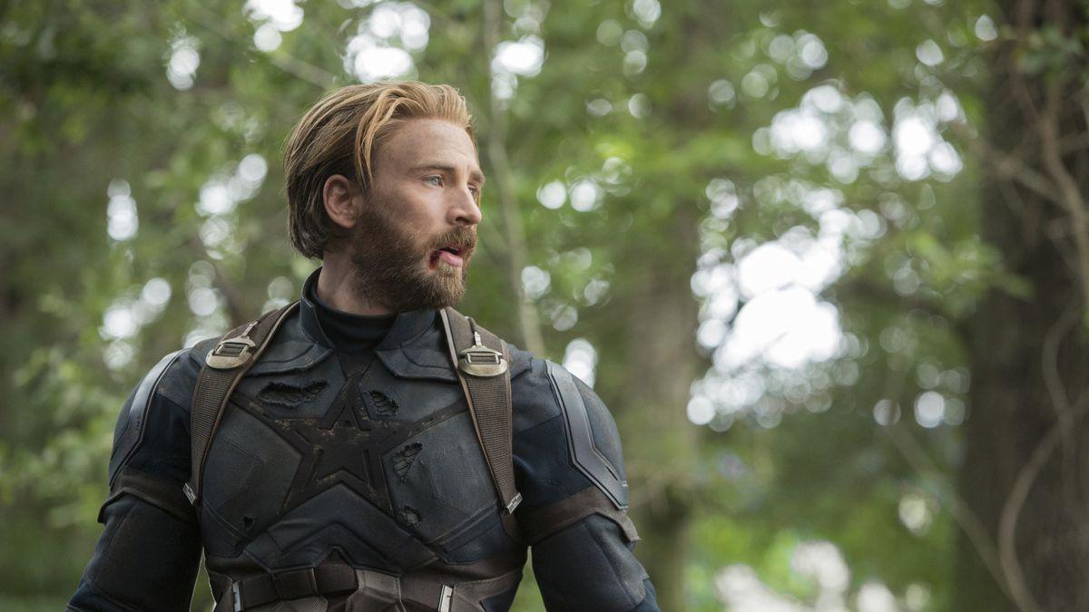 Marvel Studios' AVENGERS: INFINITY WAR..Captain America/Steve Rogers (Chris Evans)