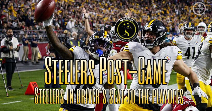 Podcast: Pittsburgh Steelers now in the driver seat to the playoffs