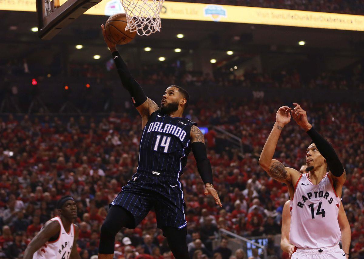 NBA: Playoffs-Orlando Magic at Toronto Raptors