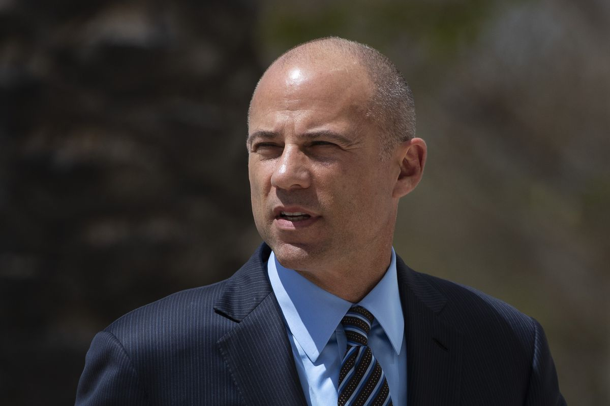 FILE - In this April 1, 2019 file photo, attorney Michael Avenatti arrives at federal court in Santa Ana, Calif. An indictment filed against Avenatti, Wednesday, April 10, alleges he stole millions of dollars from clients, didn't pay his taxes, committed