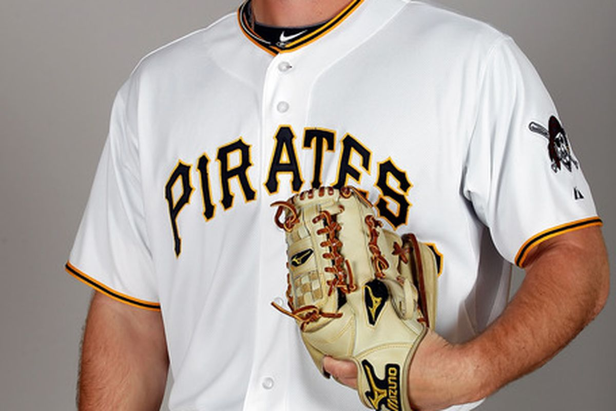 BRADENTON FL - FEBRUARY 20:  Pitcher Kyle McPherson #67 of the Pittsburgh Pirates poses for a photo during photo day at Pirate City on February 20 2011 in Bradenton Florida.  (Photo by J. Meric/Getty Images)