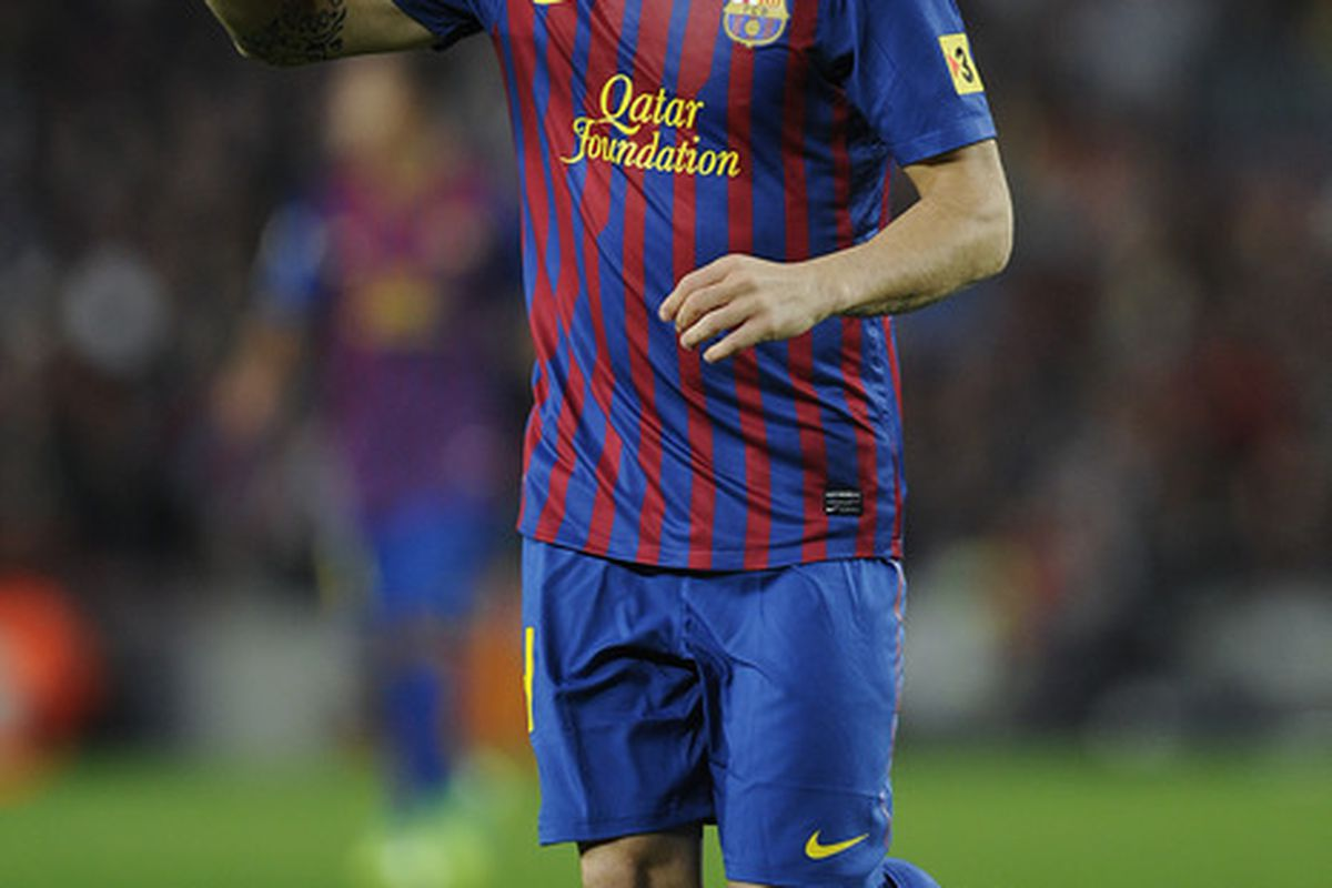 Cesc did not have a good game against L'Hospitalet.