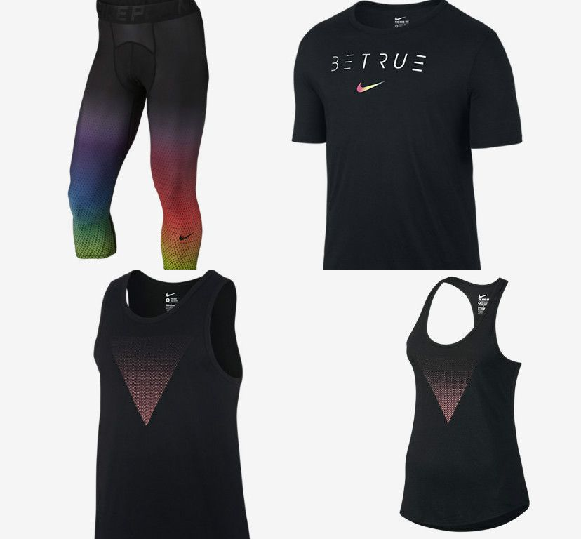 new style cdcf8 b9e73 Nike s highly anticipated 2016 BeTrue line is about to hit stores online  and across the country, and we are now getting our first look at several of  the ...