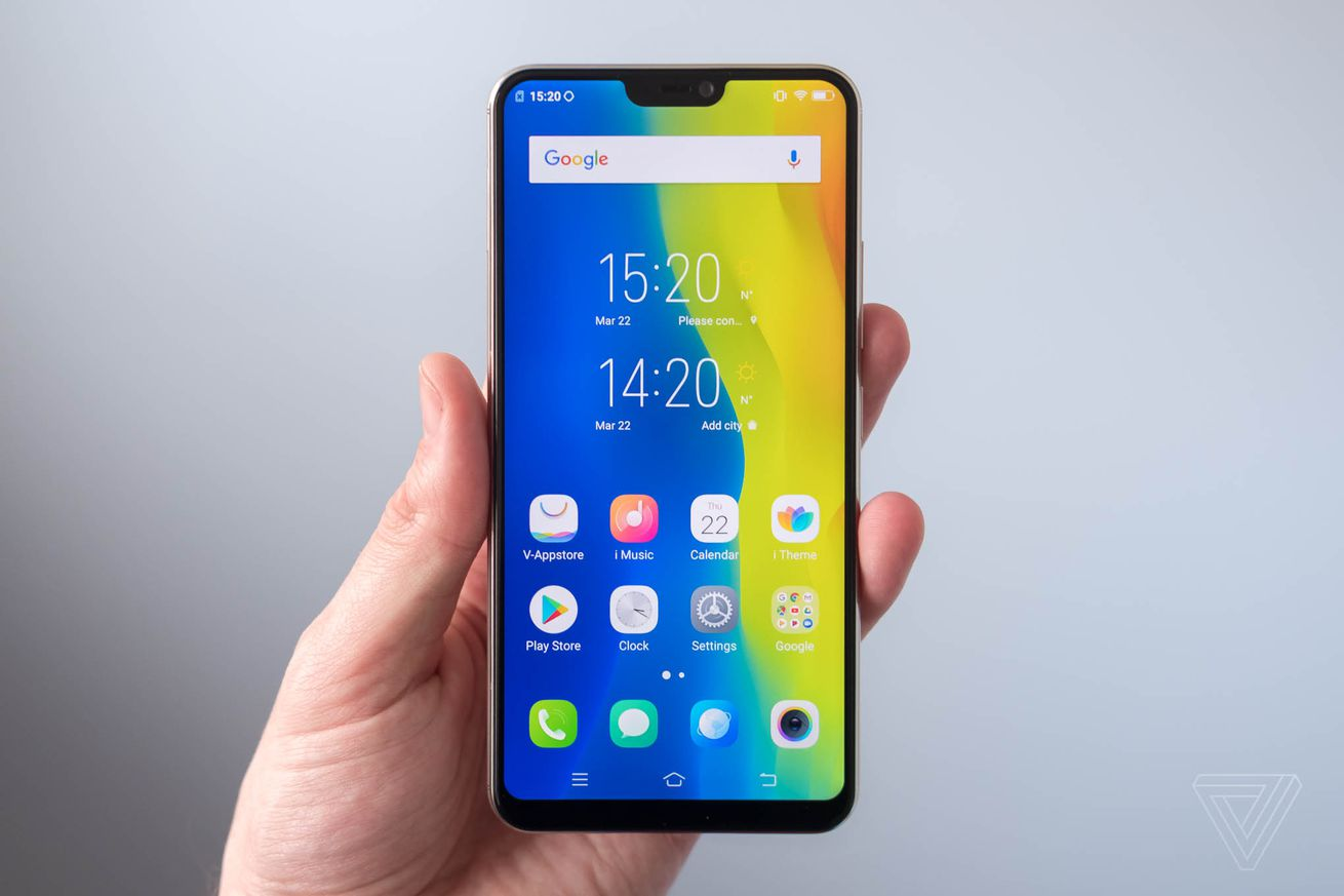 vivo s new v9 flagship has a notch and a 24 megapixel selfie camera