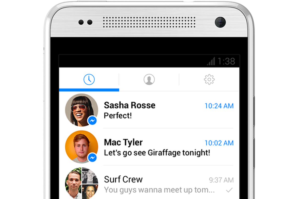 Facebook redesigns Messenger again: less Facebook, more