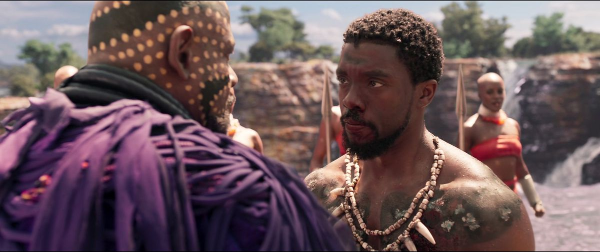 t'challa accepts the role of black panther
