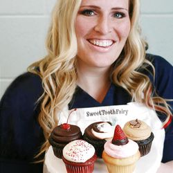 """The winning flavors from """"Cupcake Wars"""" with founder of Sweet Tooth Fairy bake shops Megan Faulkner Brown."""