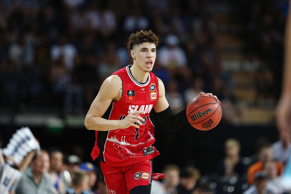 Charlotte Hornets Select Lamelo Ball With The Third Overall Pick At The Hive