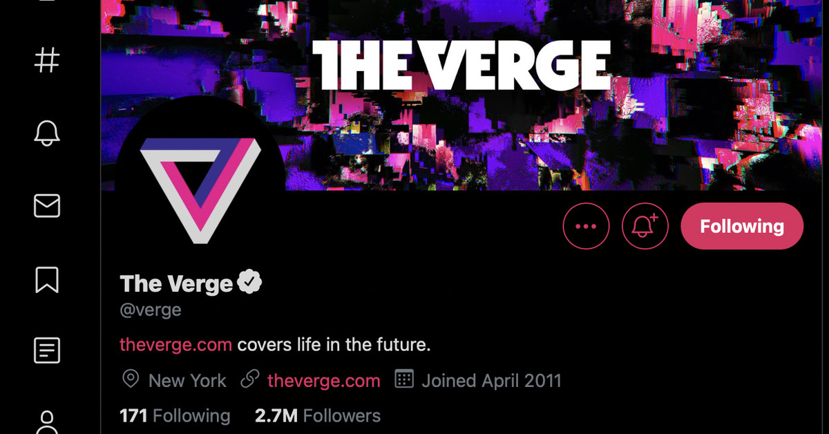 If Twitter's dark mode has recently changed for you you're not alone – The Verge