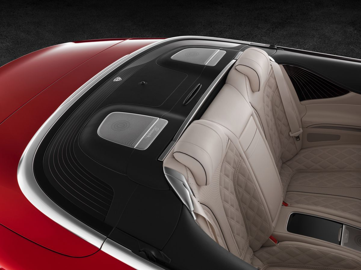 the new mercedes maybach s 650 could be the ultimate luxury convertible the verge. Black Bedroom Furniture Sets. Home Design Ideas