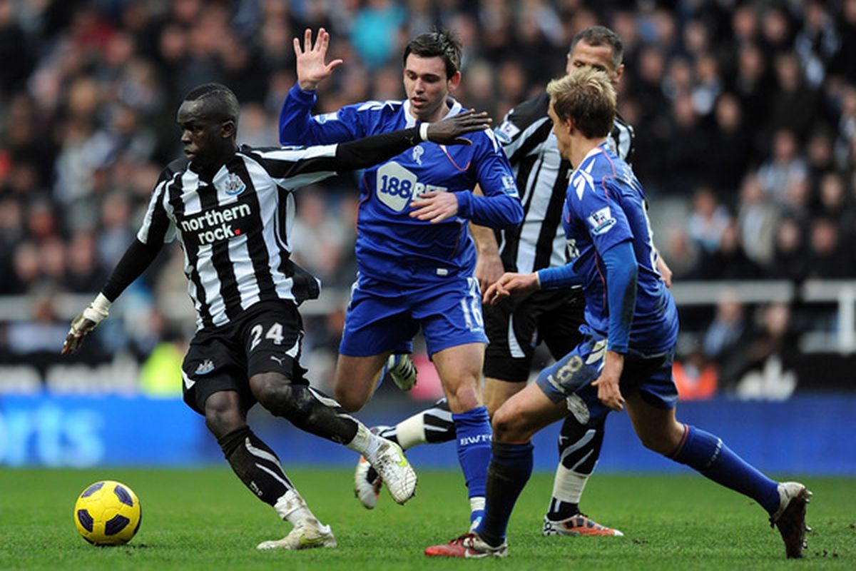 """Cheik Tiote turned down an offer to play with the Blues in January, saying that London was """"too busy"""" for his tastes.  Strange coming from a man who is so adept at weaving in and out of traffic."""