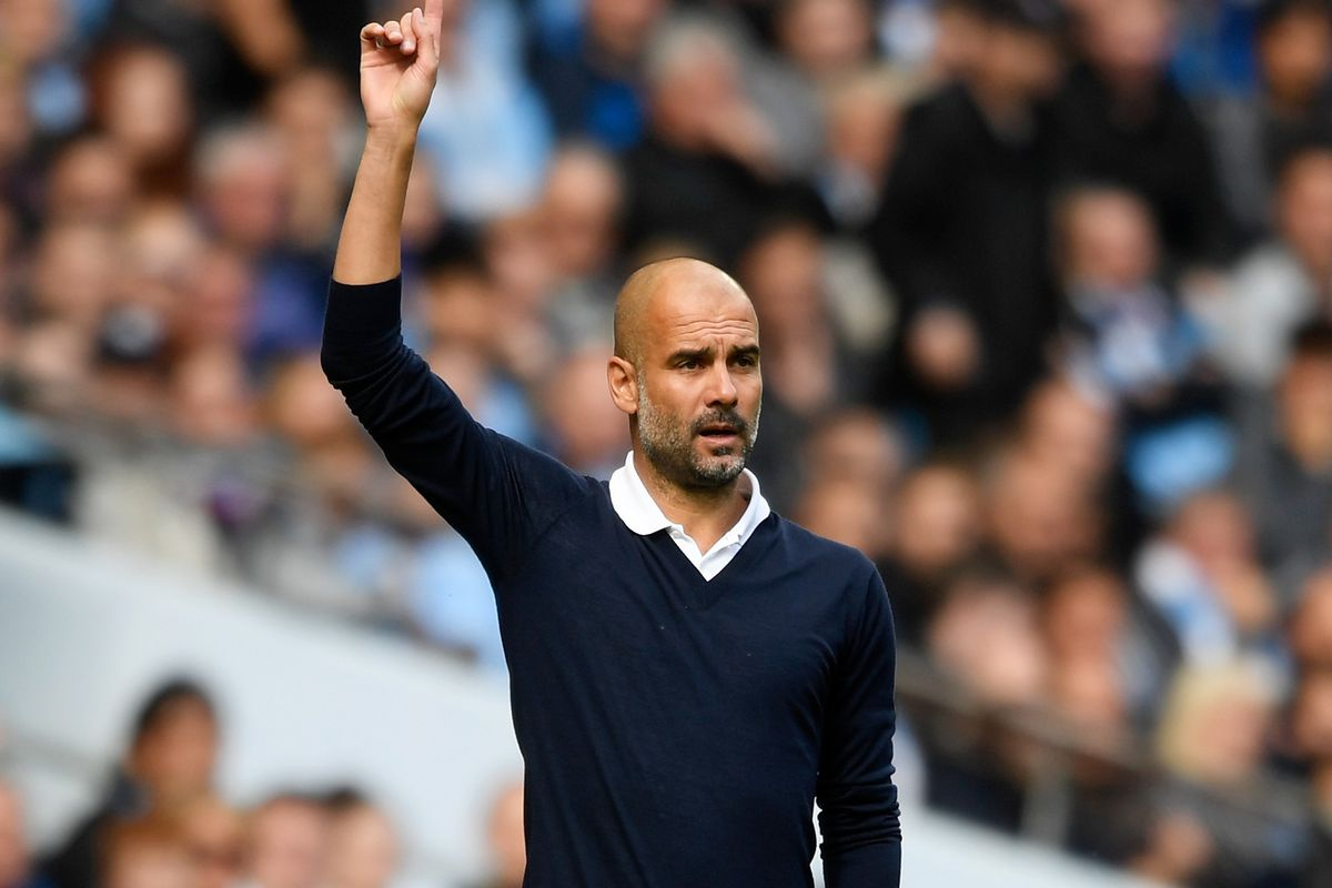 Image result for pep city 5-0 liverpool