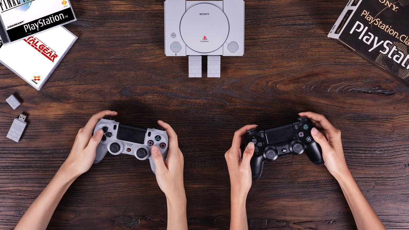 PlayStation Classic gets wireless PS4 controller support