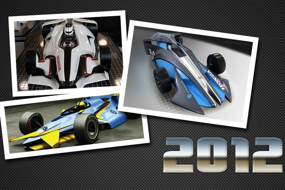 The concepts for the 2012 IndyCar chassis have ranged from the evolutionary to the revolutionary.