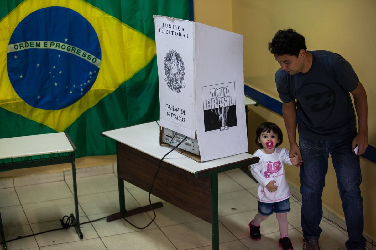 First Round Presidential Elections Held In Brazil