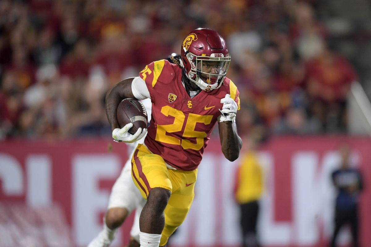 Ronald Jones Ii Would Bring Electricity To The Redskins Rushing Attack Hogs Haven