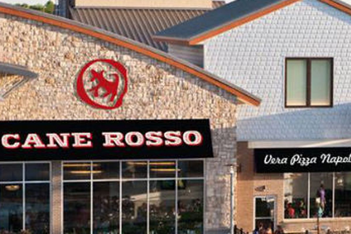 A rendering of Cane Rosso Fairview.