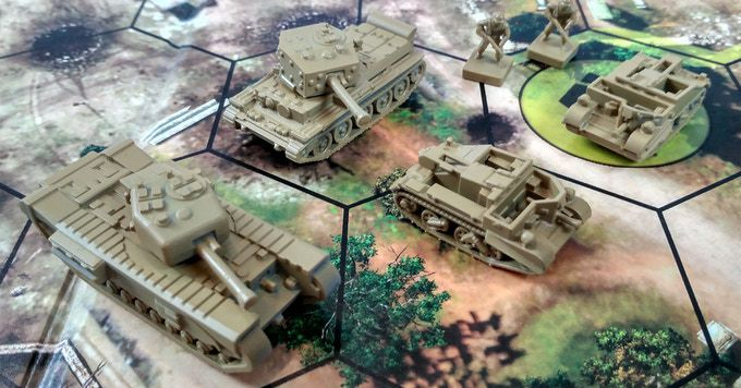 Company of Heroes is getting a strategy board game, now on Kickstarter