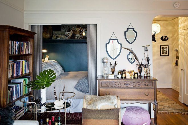 Apartment Decorating Ideas No Matter What Kind Of: 24 Small Spaces With Wonderful Maximalist Decorating