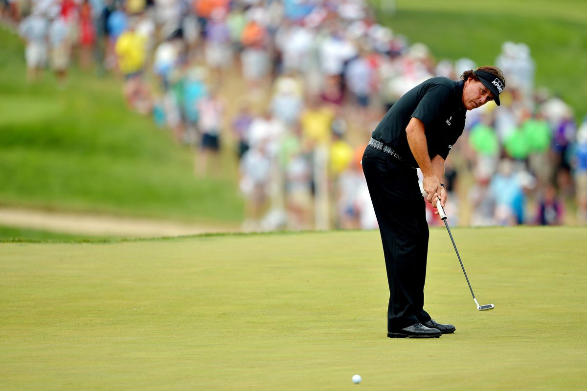 phil mickelson adds putting secret  subtracts driver for