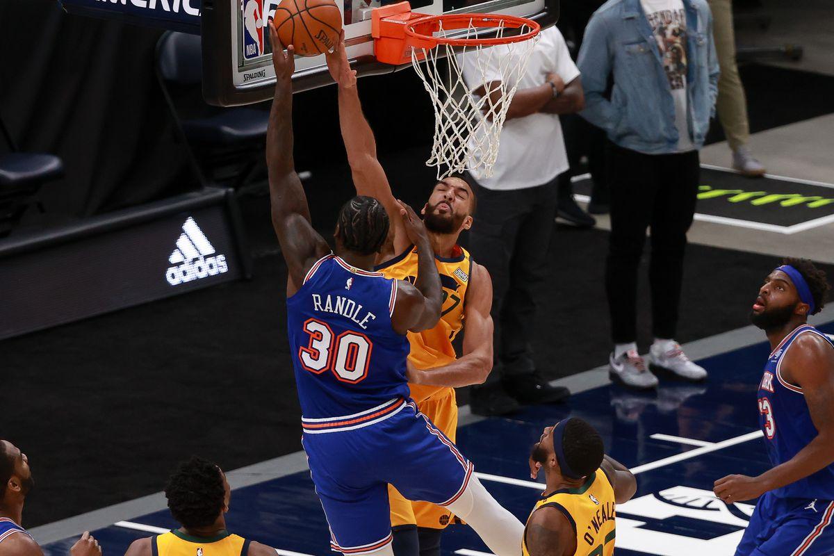 NBA: New York Knicks at Utah Jazz