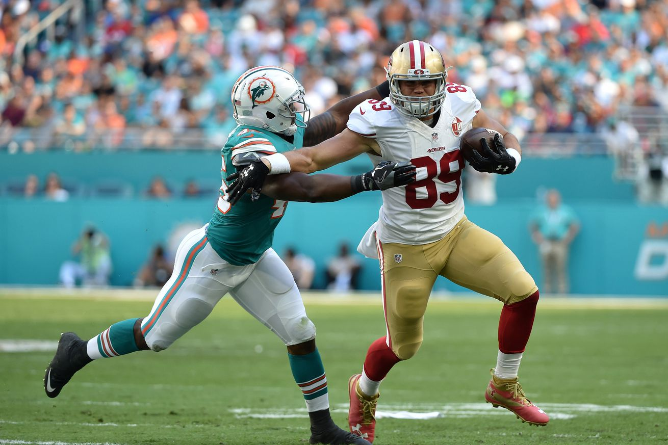 49ers roster breakdowns, 90-in-90: Vance McDonald