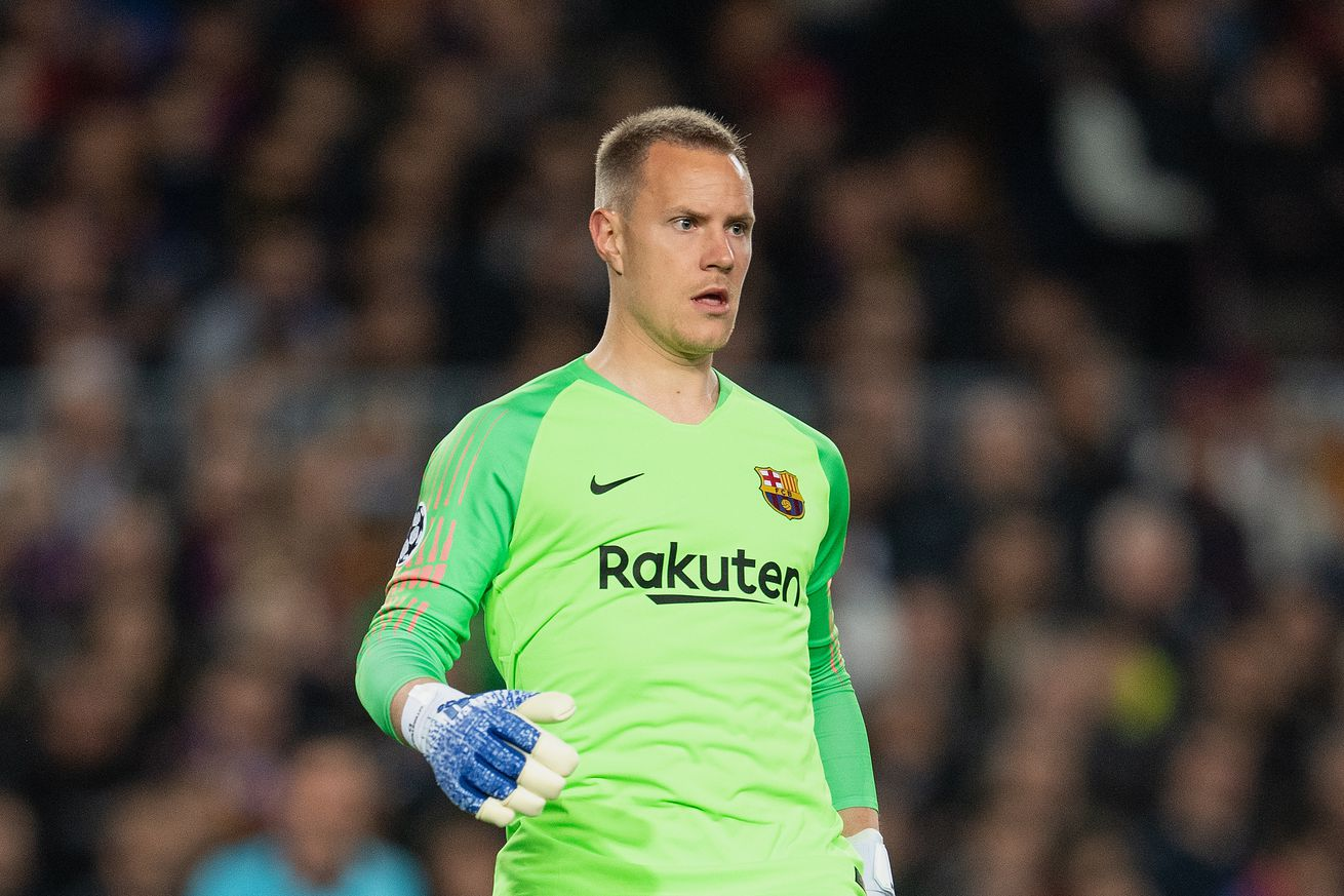 Barca confirm Ter Stegen out with knee injury