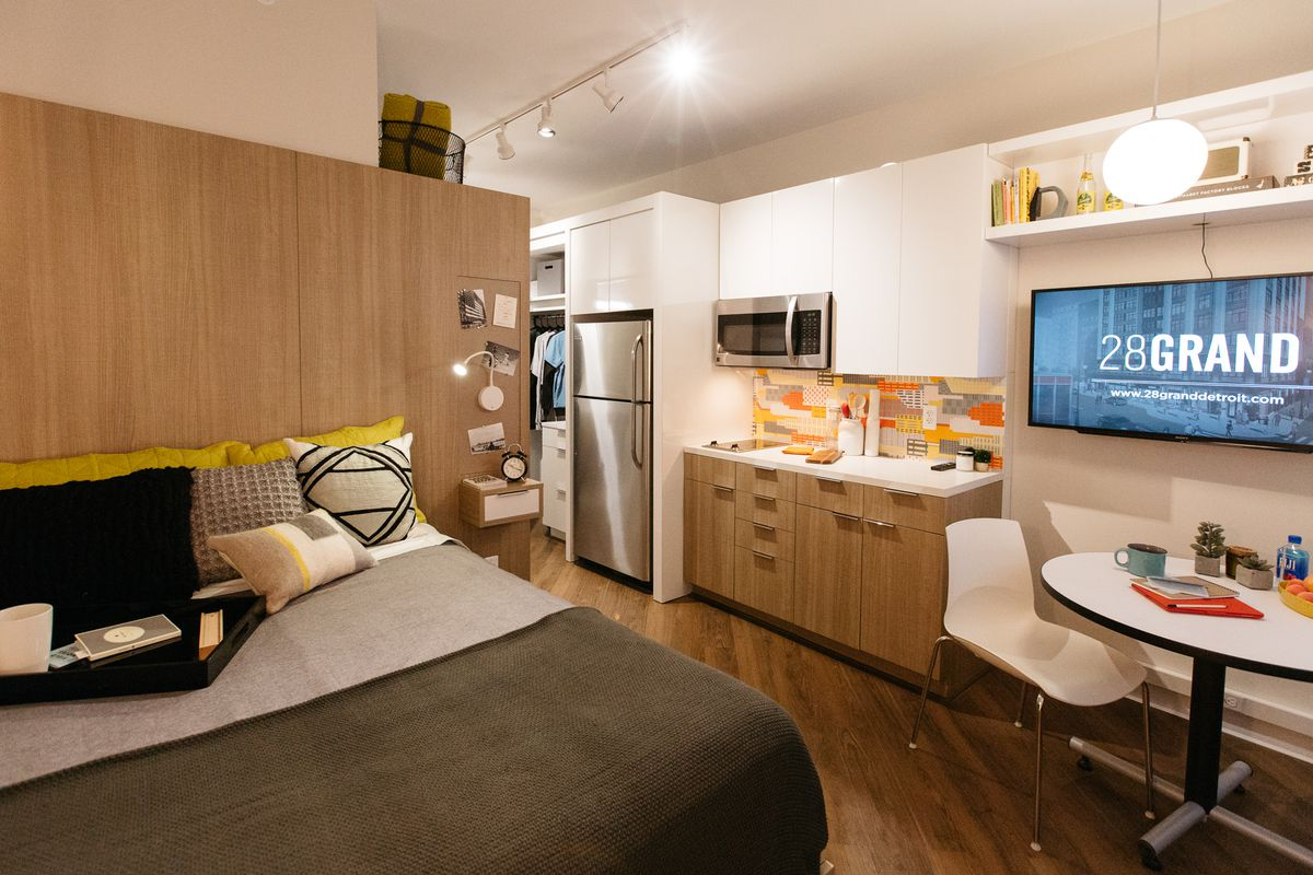 Here S What The Micro Apartments Will Look Like At Bedrock 28 Grand