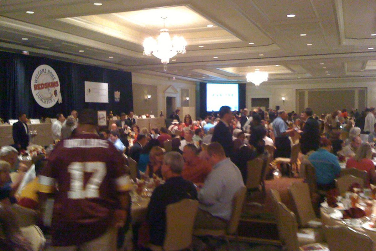 2010 Redskins Welcome Home Luncheon