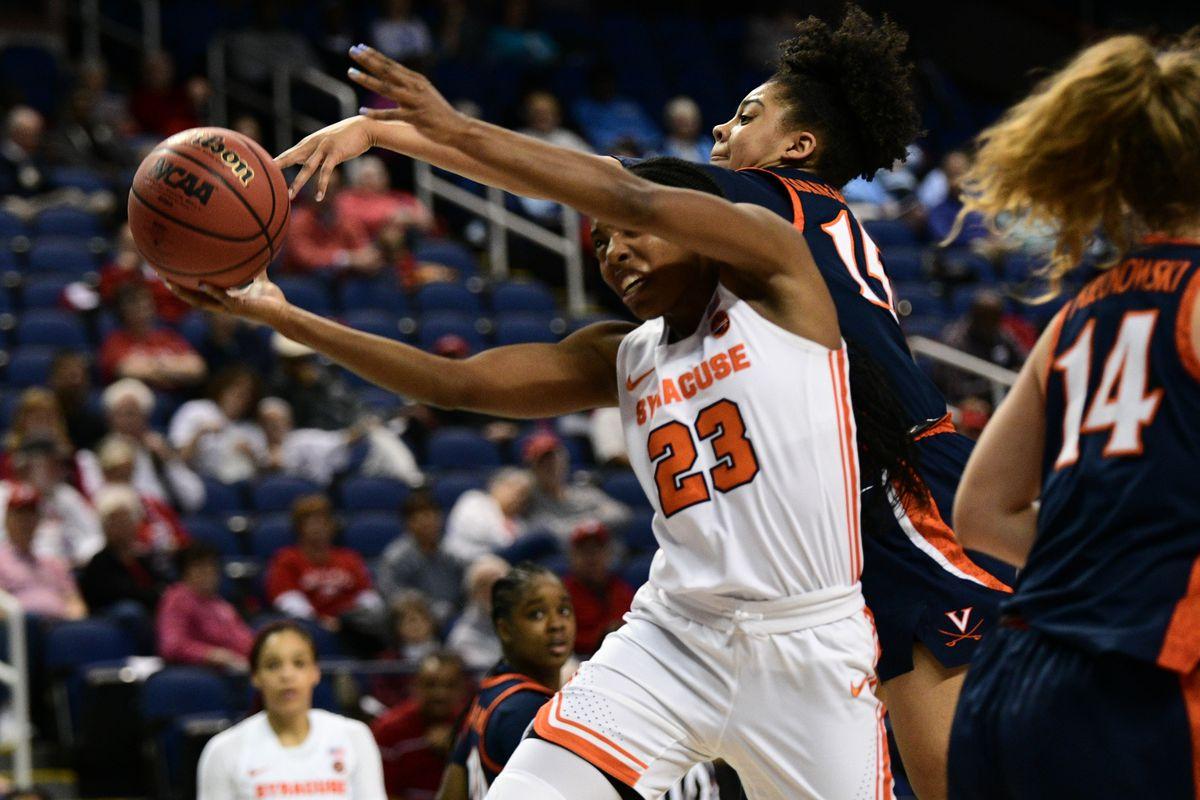 COLLEGE BASKETBALL: MAR 05 ACC Women's Tournament - Syracuse v Virginia