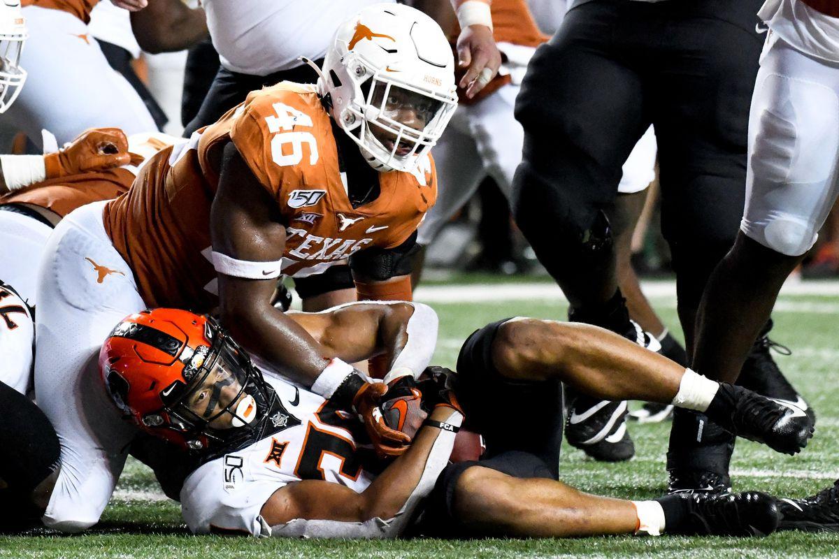 NCAA Football: Oklahoma State at Texas