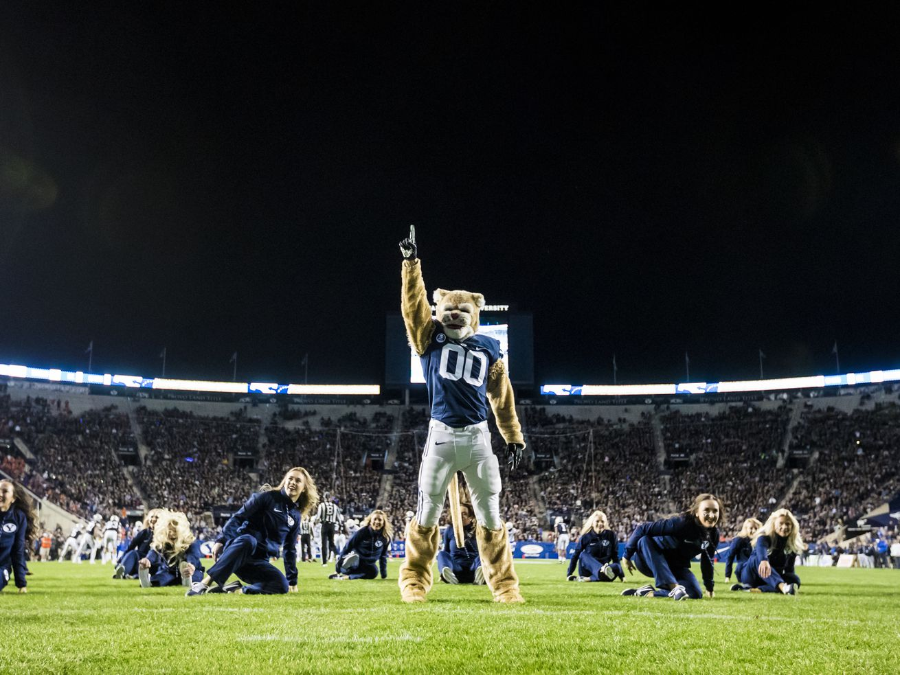 BYU's Cosmo initially snubbed in College Sports on Sirius XM 64-mascot tournament